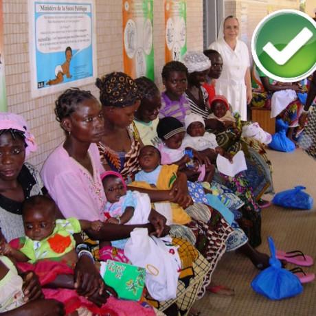 Reforma y ampliación de la maternidad de Komborodougou