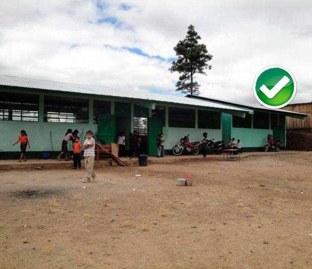Soporte alimentario a familias desplazadas