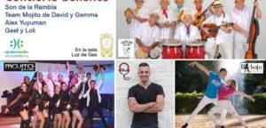 Festa solidària amb música salsa i ball
