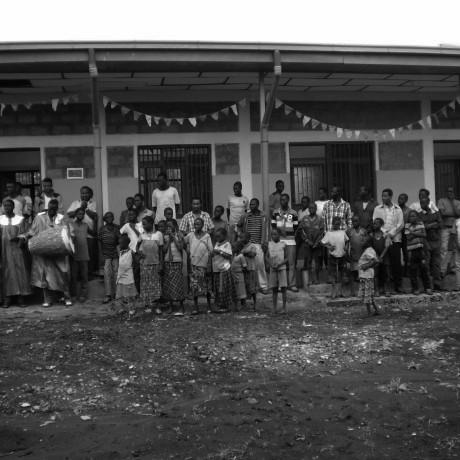 Construcción de cocina tradicional para grupos