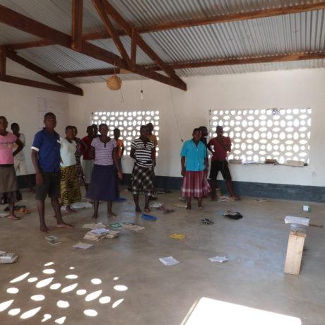 Construcción de 2 aulas de secundaria